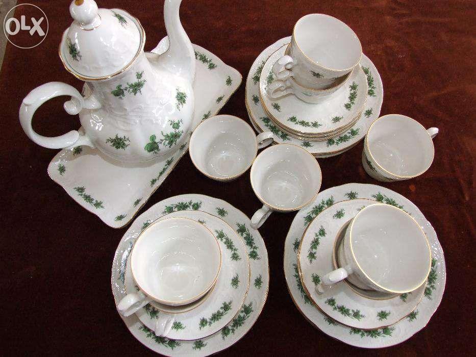serviciu pentru ceai-cafea din portelan de bavaria-seltman-9 persoane