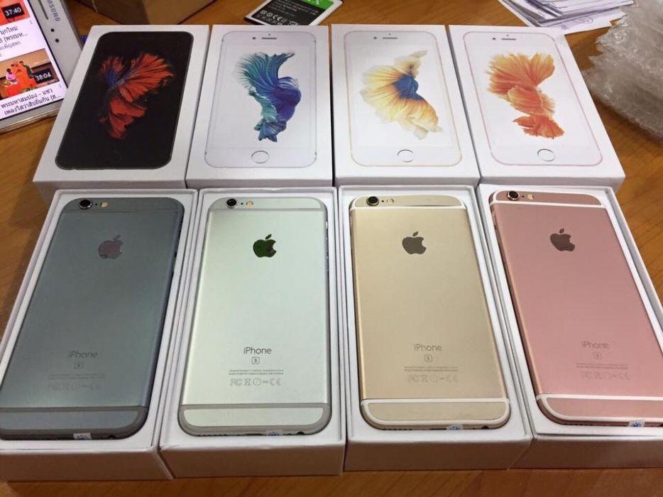 iPhone 6s 128Gb na caixa celado.
