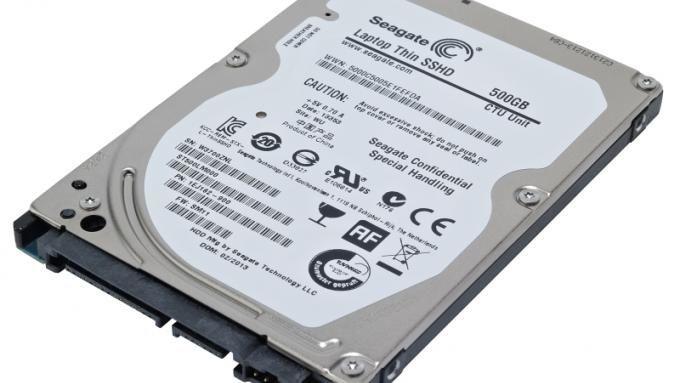 SSHD Laptop Seagate 500GB NOI