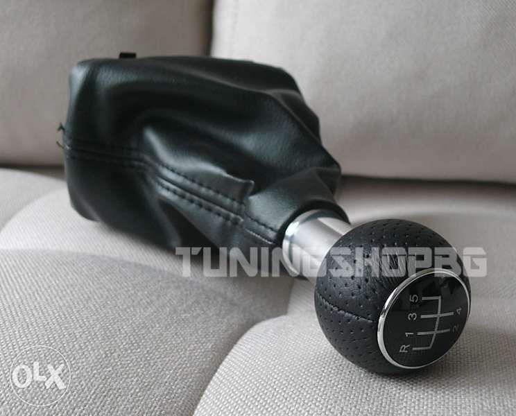 Топка и маншон за скоростен лост за Audi/VW Ауди А3 A3 5 и 6 скорости
