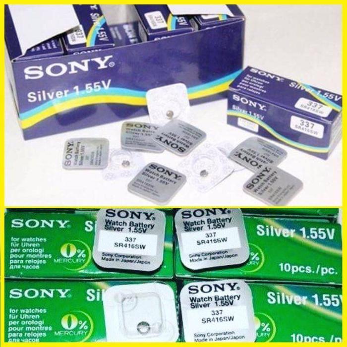 Baterie Sony 337 SR416SW pentru casca japoneza de copiat baterii casti