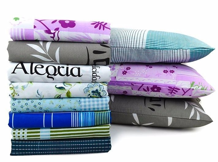 Vendo lençois e almofadas