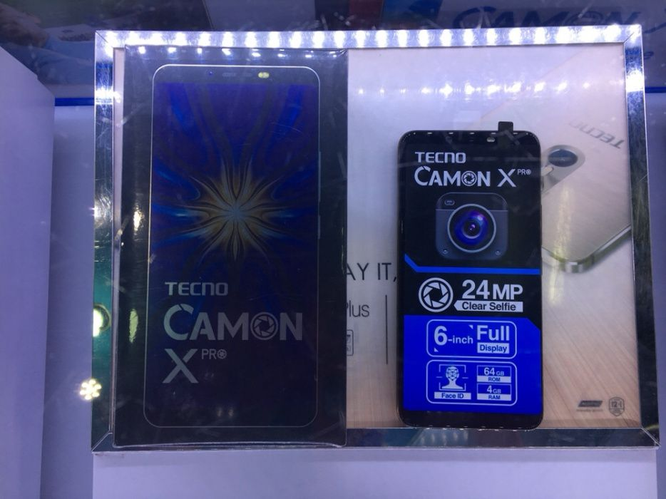 Tecno Camon X Pro 4gb ram 64gb de memória interna