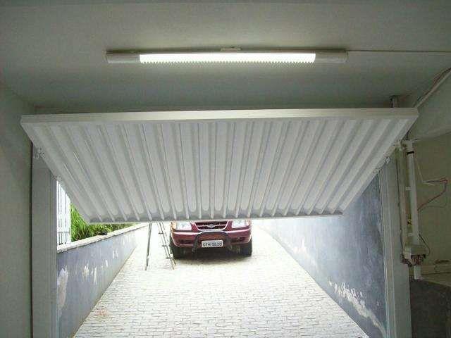 Portao Basculante Automatico Para Garagem, Armazem ou Quintal