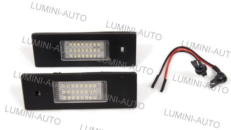 Lampi numar cu LED-uri SMD BMW dedicate E36, E46, E39, E90, E63 etc