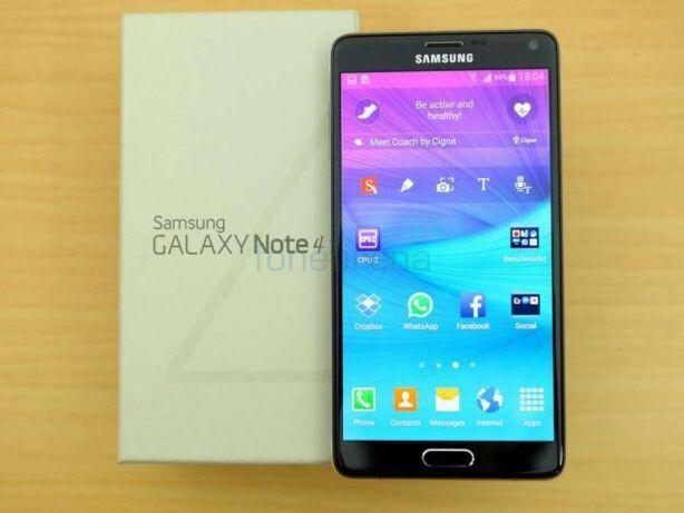 Samsung Galaxy Note4 novo na caixa selado com todos acessórios