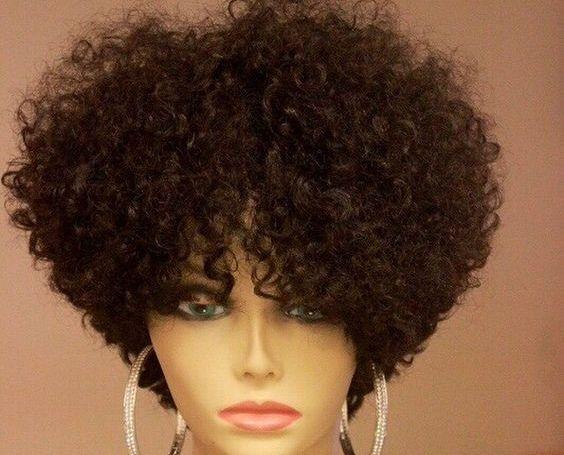 Vendo peruca repolho nova