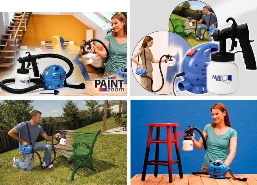 Машина за боядисване Пейнт зуум Paint Zoom !!!