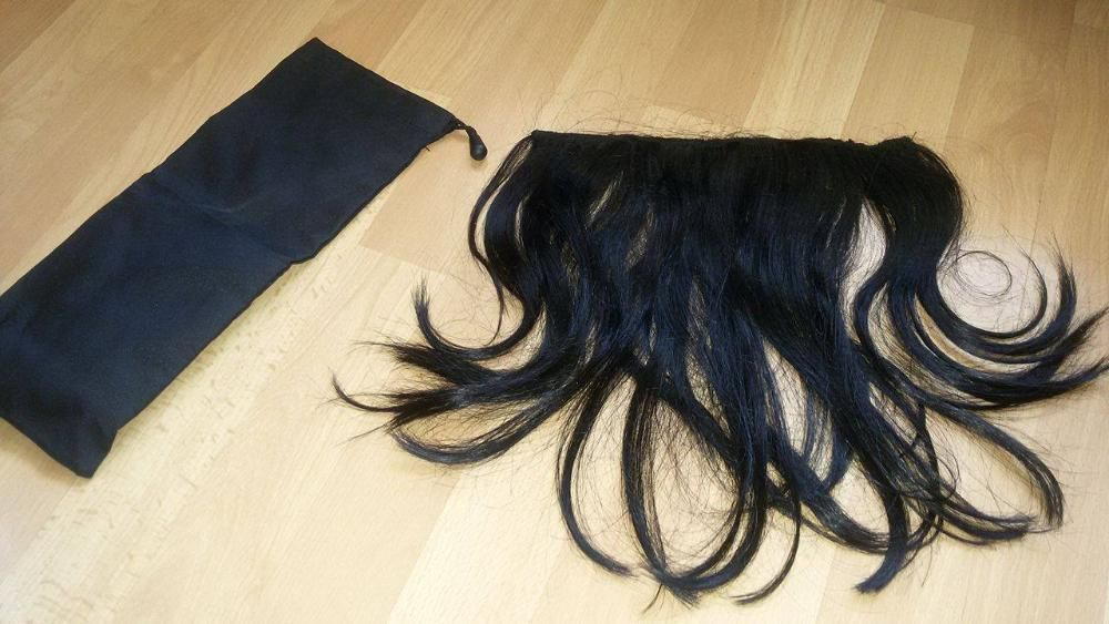 100 % Естествена индийска Реми коса черна купувана от Германия