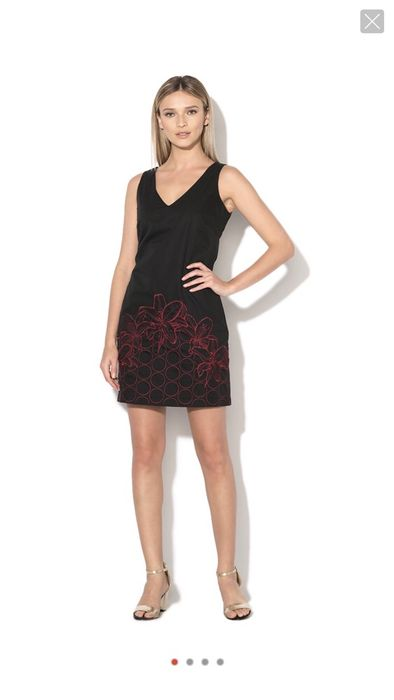 Нова рокля Desigual с бродерия