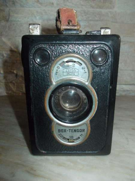 Фотоапарат box tengor zeiss ikon