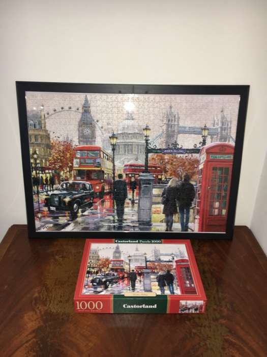 Puzzle inramat nelipit Londra 50/70 cm 1000 piese