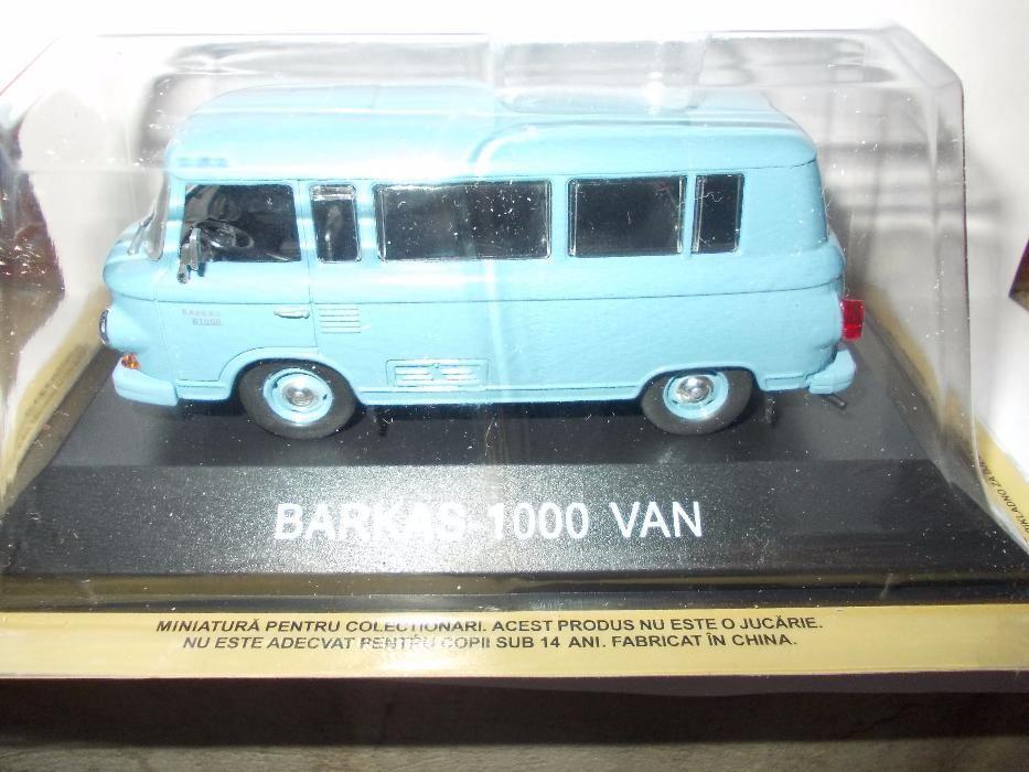 Macheta DeAgostini de Romania - Barkas - 1000 Van -