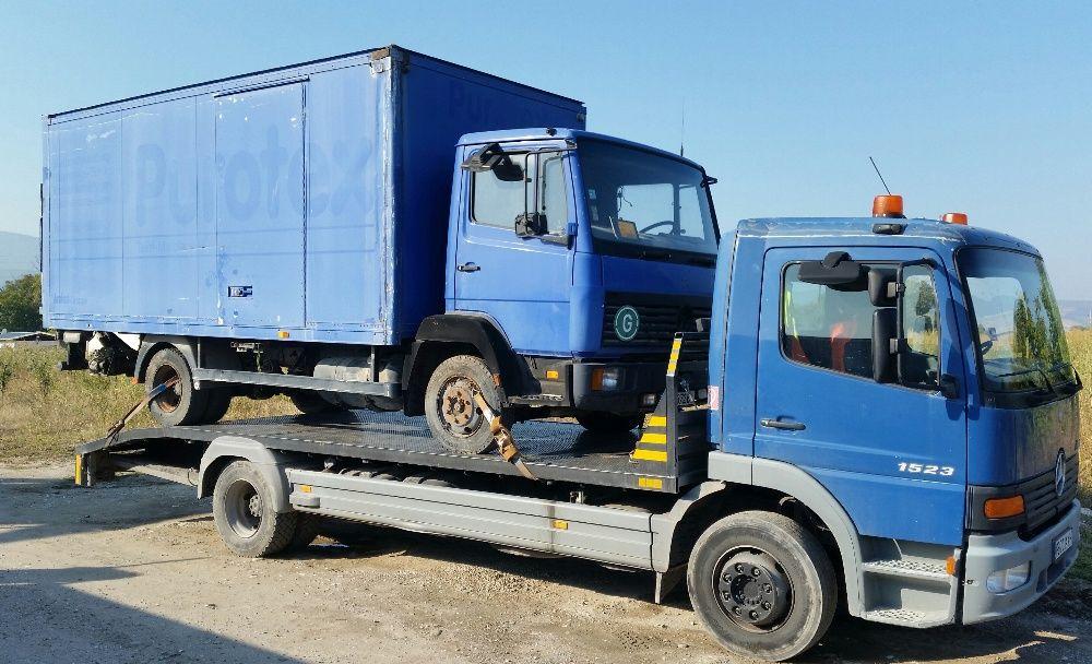 Транспортни услуги и Пътна помощ 10 тона Пловдив