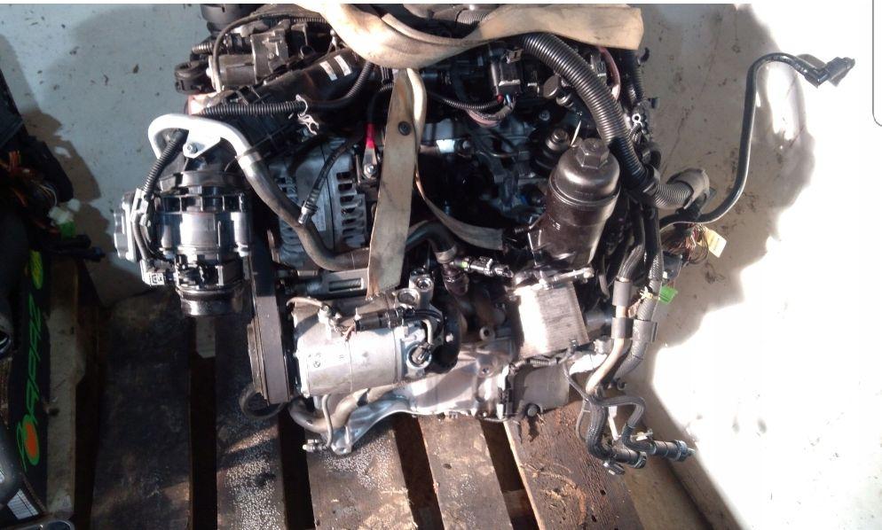 Motor bmw b47D20 2.0d injectoare turbo alternator