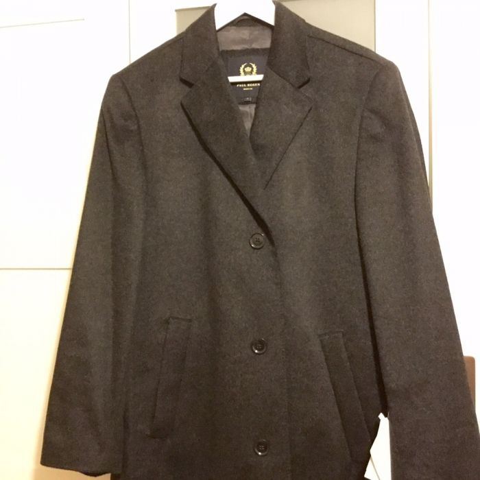 Palton barbati Paul Rosen Heritage, casmir 100%, nou, cu eticheta, 48