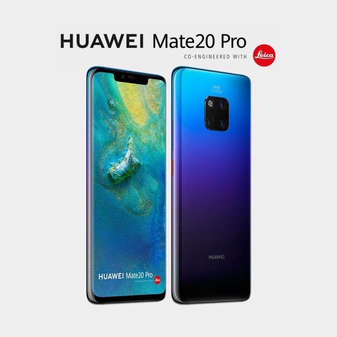 Huawei Mate 20 Pro 128gb na caixa selado