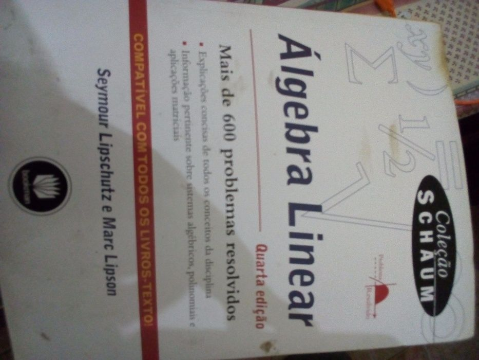 Livro algebra linear