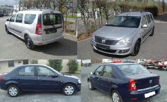 Dacia Logan на части 2012 комби/седан