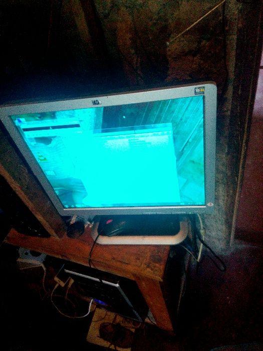 "Monitor plasma hp 17"""