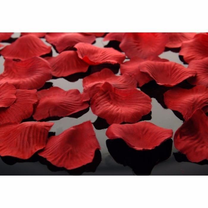 Petale trandafiri artificiale, Rosu, 500buc