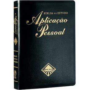 Biblia de Estudo Aplicação pessoal