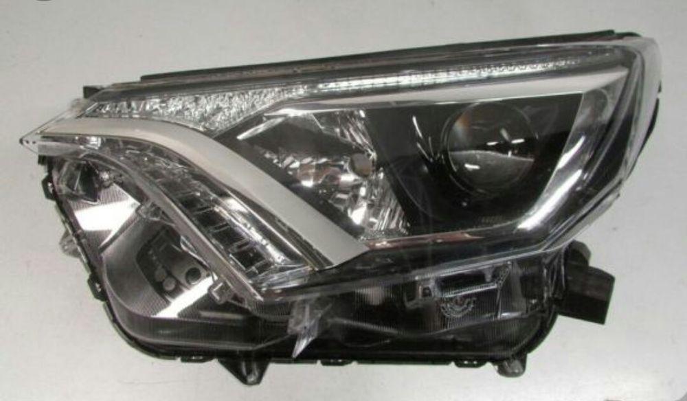 Фара Toyota Rav4 раф4 тойота бампер решетка капот оригинал