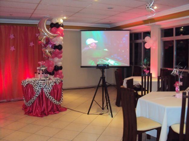 Progeção de Fotos e videos em Eventos