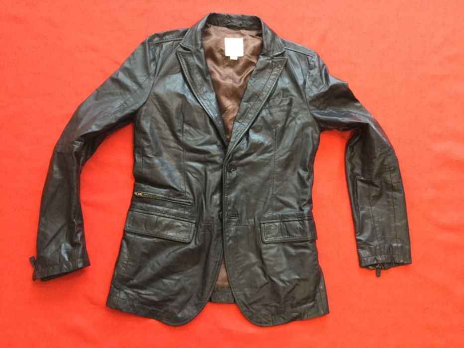 Diesel-оригинално кожено яке-сако