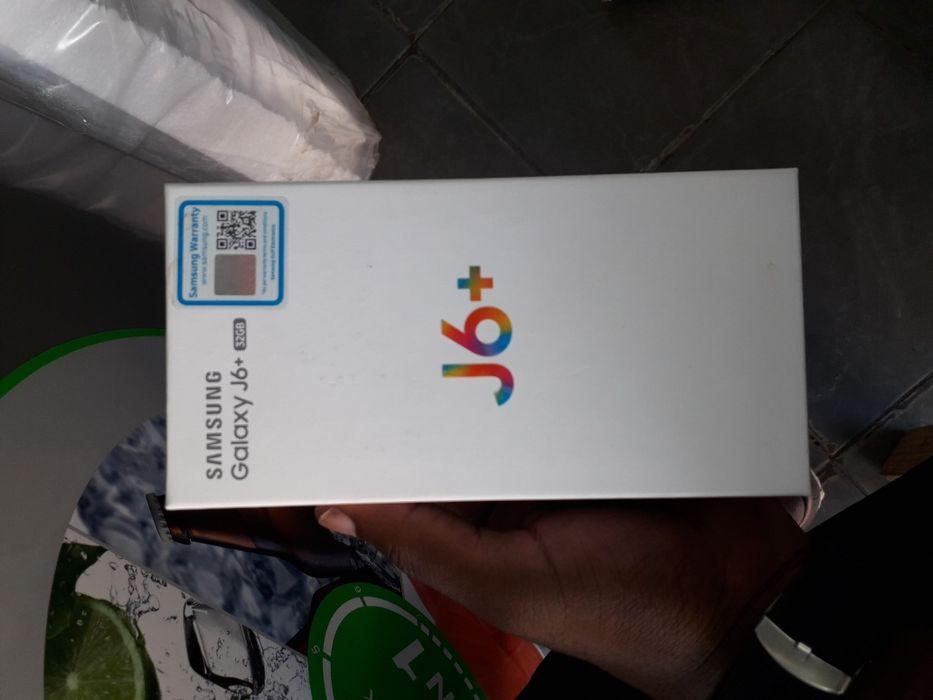 Samsung j6plus novos selados promoção