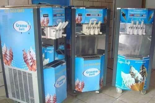 Máquina de gelado a venda em promoção