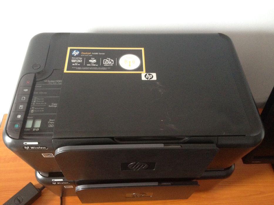 Impressora Hp Deskjet F4580 Series