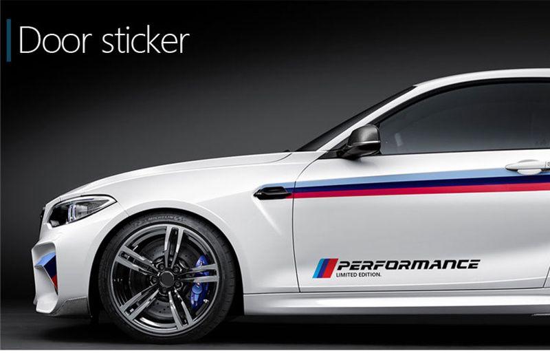 Sticker autocolant exterior usa BMW M performance ornamente stickere