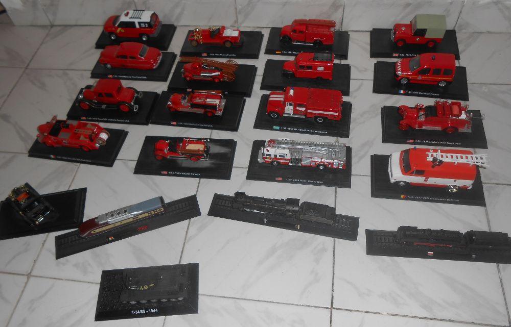 Лот коли ,камиони ,пожарна и други 34 броя на amercom
