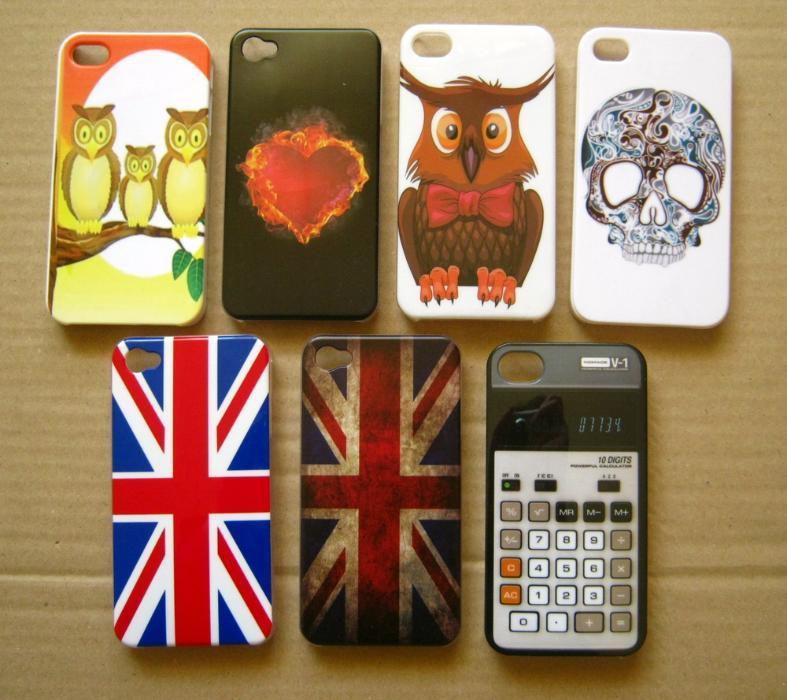 Carcasa plastic iPhone 4G, 4S, modele haioase + folie cadou!