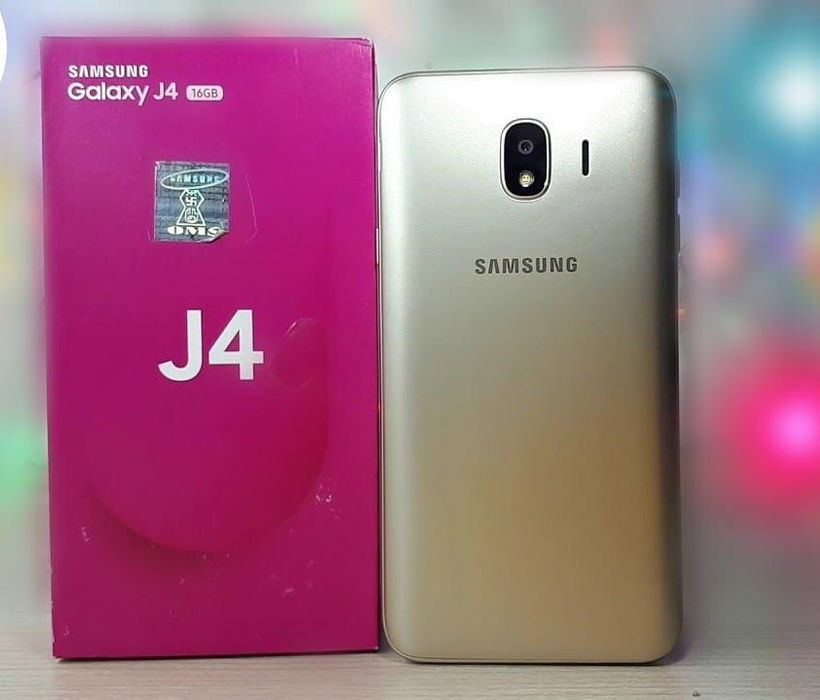 Samsung j4 selado