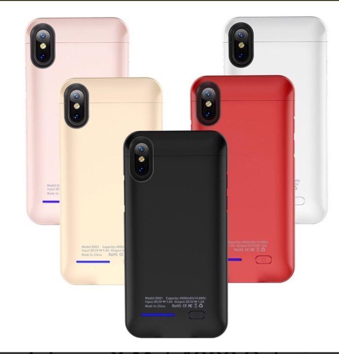 Cases recarregáveis p/ todos os iPhones