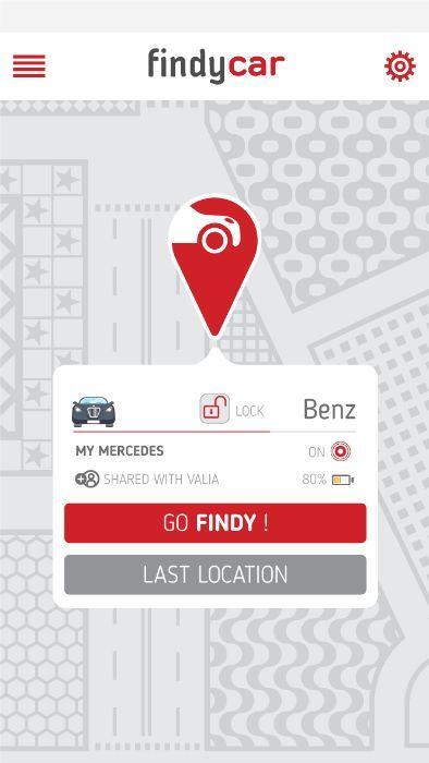 Findy Car - Световен GPS tracker за автомобили