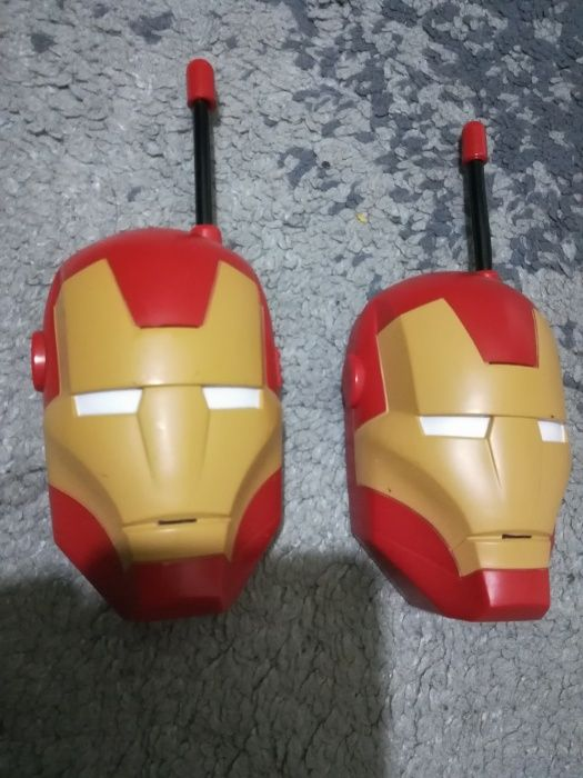 Walkie talkie Iron man / stații emisie recepție