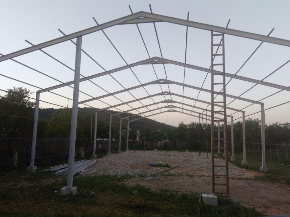 Structuri metalice de vânzare și hale complete