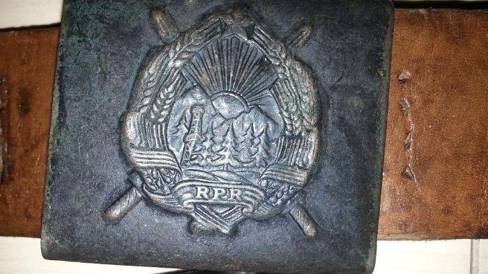 Centura militara RPR ani 50/60 cu pafta RPR (stocuri) Produse in sta