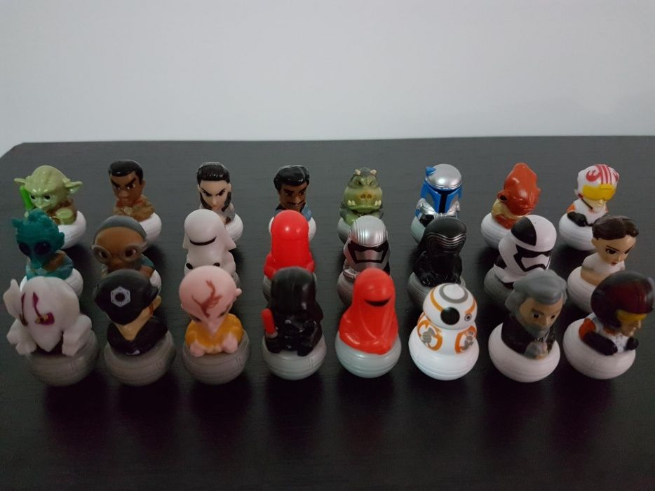 VAND colecția completa Rollinz Star Wars (24 figurine)
