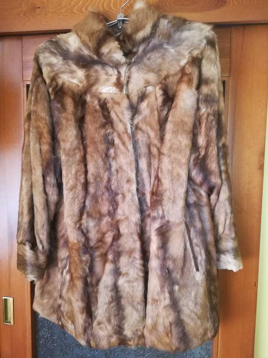 Зимно палто от лисича кожа