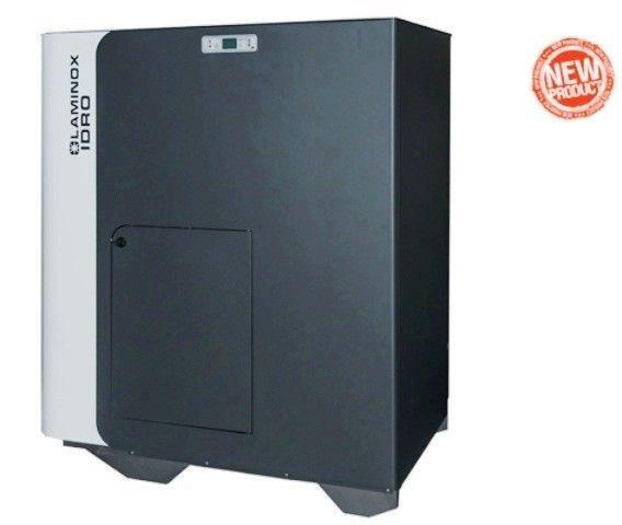 Cazan peleţi multicombustibil cu autocuratare Termoboiler Maxi 47kW