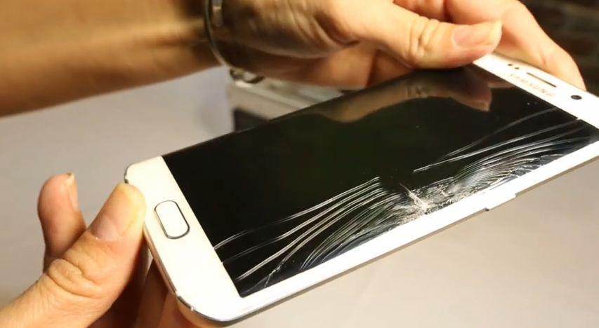 Inlocuire schimbare sticla geam display Samsung Galaxy s7 edge s8 s9
