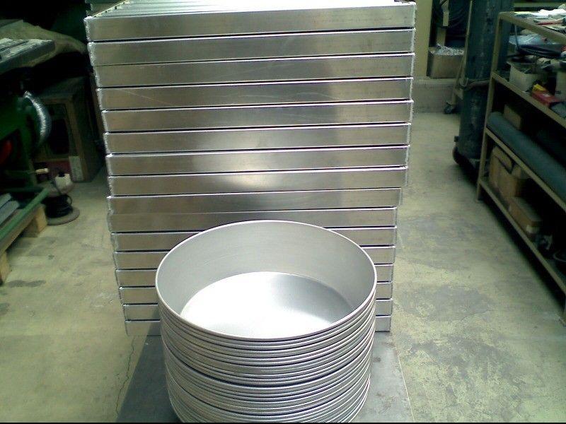 Алуминиев леген за подквасване на 5 кг. кисело мляко от производител.