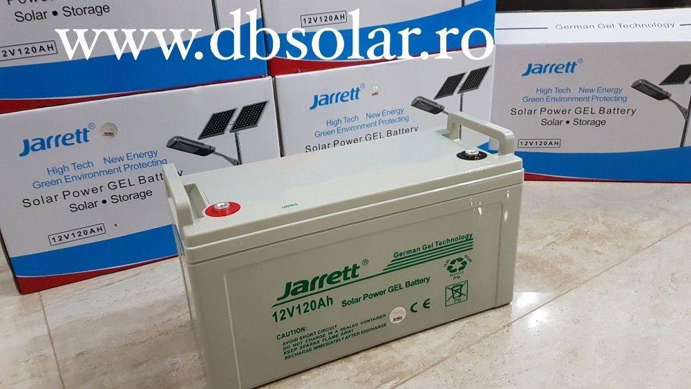 Acumulator Baterie Solara JARRETT GEL AGM 120 Ah 100Ah 12V NOU ‼️