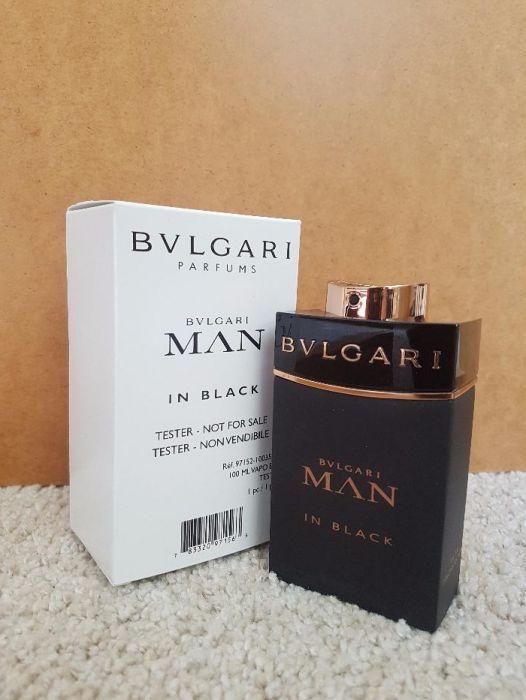 Parfum tester Bvlgari Man in Black!