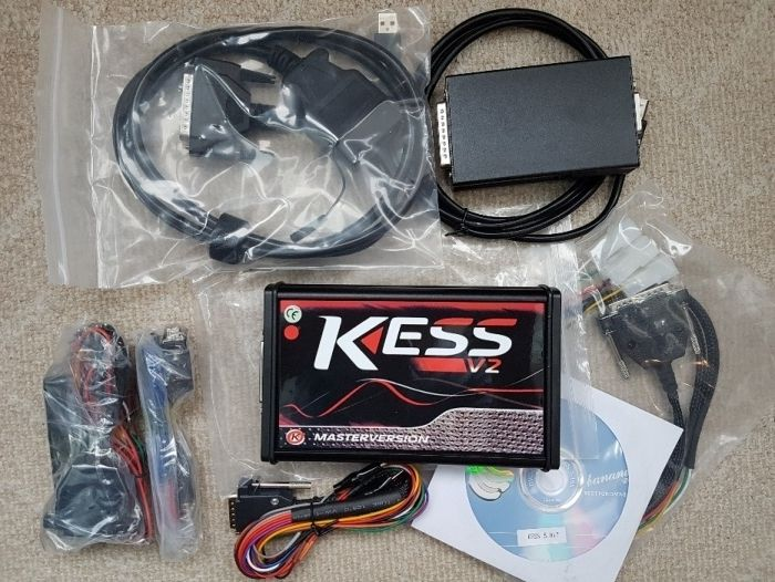 Master Online KESS V2 5.017 SW 2.23 No Token limit , placa rosie full