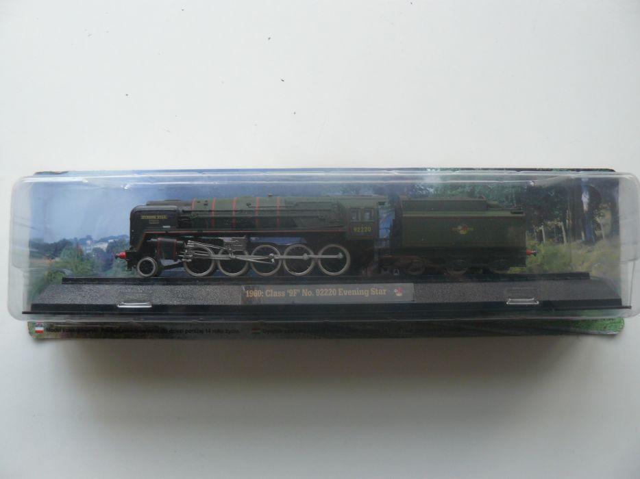 "Macheta Locomotiva De Colectie ""CLASA 9F EVENING STAR"" 1960 Scara 1:76"